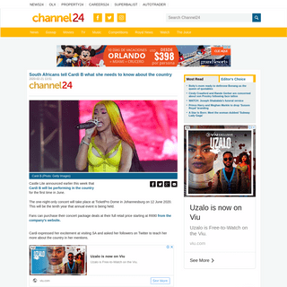 ArchiveBay.com - www.channel24.co.za/Music/News/south-africans-tell-cardi-b-what-she-needs-to-know-about-the-country-20200221 - South Africans tell Cardi B what she needs to know about the country - Channel24