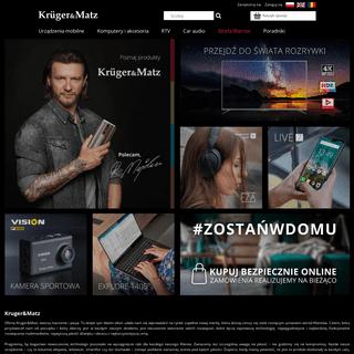 ArchiveBay.com - krugermatz.com - Kruger&Matz - zestawy głośnikowe, telewizory, słuchawki, smartfony, tablety