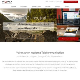 inopla GmbH - Intelligente Telekommunikation für Ihr Unternehmen