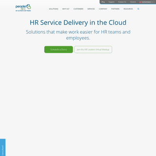 HR Service Delivery - HR Document Management Software - PeopleDoc