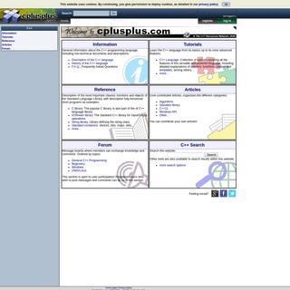 ArchiveBay.com - cplusplus.com - cplusplus.com - The C++ Resources Network