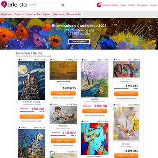Comprar arte en internet - Artelista.com