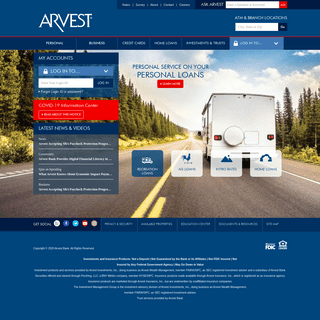 Arvest Bank - Banking, Investments, Mortgage Loans