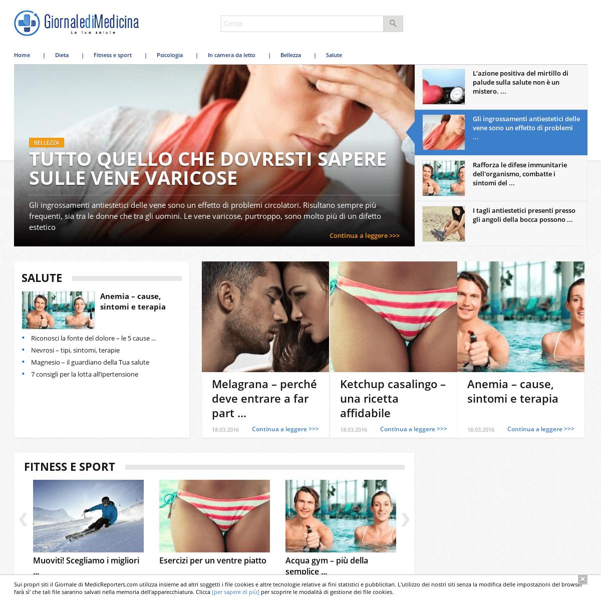 Giornale di Medicina – portale medico divulgativo, dedicato alla salute
