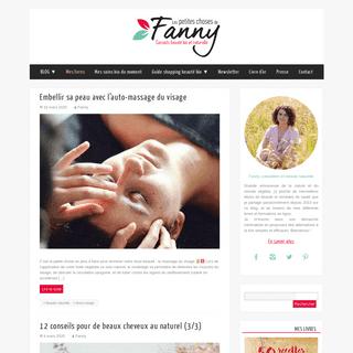 Les Petites Choses de Fanny