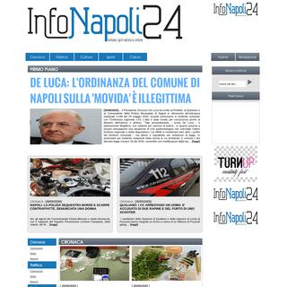 InfoNapoli24 - Testata giornalistica Online