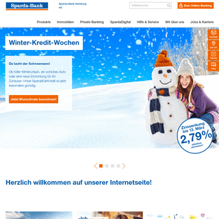 Sparda-Bank Hamburg eG Homepage
