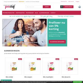 Een gezonde levensstijl voor iedereen - Proday Proteïnedieet