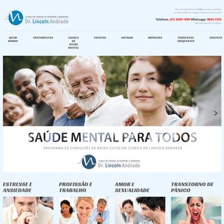 Dr. Lincoln Andrade - Psiquiatra em Curitiba especialista em relacionamentos