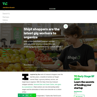 ArchiveBay.com - techcrunch.com/2020/02/24/shipt-shoppers-are-the-latest-gig-workers-to-organize/ - Shipt shoppers are the latest gig workers to organize - TechCrunch