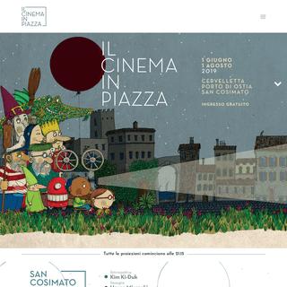 ArchiveBay.com - ilcinemainpiazza.it - Il Cinema in Piazza - Roma- arene di San Cosimato, Cervelletta e Ostia