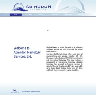 Abingdon Radiology - Home