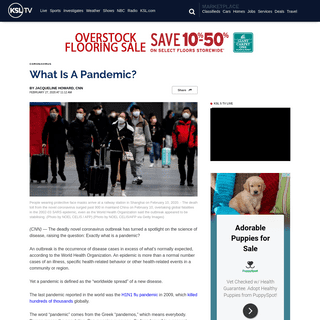 What Is A Pandemic-