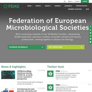 ArchiveBay.com - fems-microbiology.org - Microbiology - FEMS - Federation of European Microbiological Societies