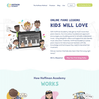 Online Piano Lessons for Kids - Hoffman Academy