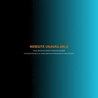 Sorry! website unavailable