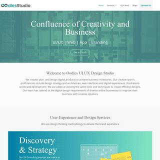 UI UX Design Studio - User Experience Design Services