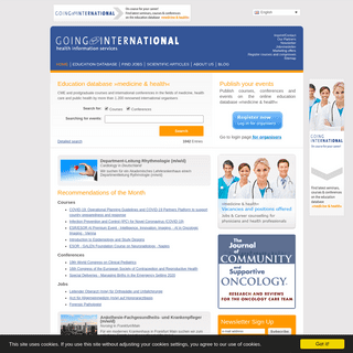 Education and careers for medicine & health professionals