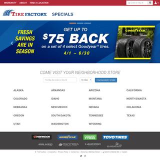 ArchiveBay.com - tirefactory.com - Tire Factory