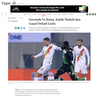 ArchiveBay.com - www.tagar.id/sassuolo-vs-roma-kalah-mudah-dan-gagal-dekati-lazio - Sassuolo Vs Roma, Kalah Mudah dan Gagal Dekati Lazio - Tagar