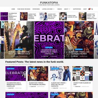 Funk Music - Funky Bands - Funk News - Funkatopia