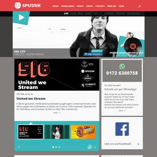 ArchiveBay.com - sputnik.de - SPUTNIK Homepage