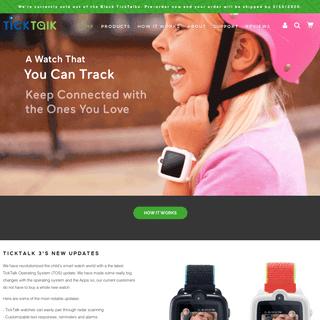 TickTalk 3 Best 4G-LTE Kids Smart Watch Phone with GPS Tracker