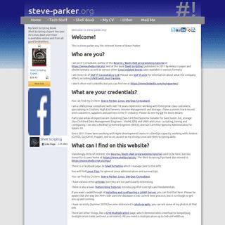 Steve Parker - IT Consultant [ steve-parker.org ]