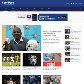 Sportpesa Scores & News - Kenya