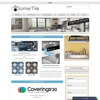 SomerTile - Distributors of high quality unique and trend-setting tile