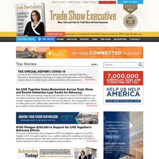 Trade Show Executive - Magazine - Conference News - TSE - Special Events - Executives