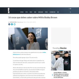 ArchiveBay.com - www.eonline.com/co/news/1124398/16-cosas-que-debes-saber-sobre-millie-bobby-brown - 16 cosas que debes saber sobre Millie Bobby Brown - E! News