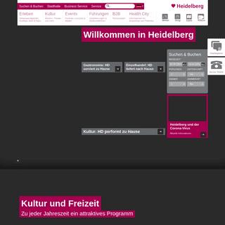 Herzlich willkommen in Heidelberg
