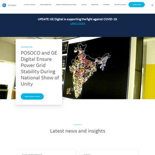 GE Digital - Putting industrial data to work.