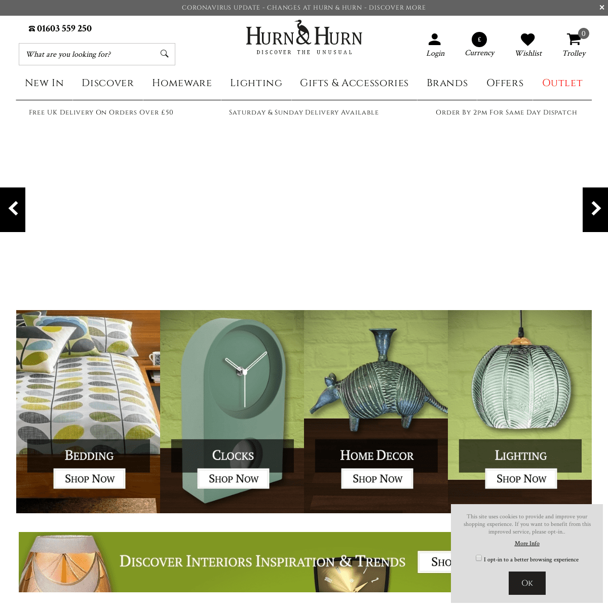 Hurn & Hurn - Homeware, Home Accessories and Gifts