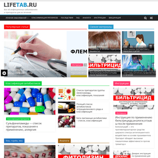 Об антибиотиках и противовирусных препаратах и лечении - LIFETAB.RU