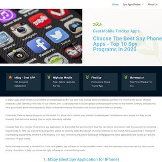 Best Spy Phone Apps - SpyPhoneApps