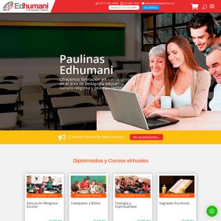 ArchiveBay.com - paulinasedhumani.com - Paulinas Edhumani-Formación Online