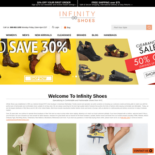 Buy Fashion Shoes and Boots Online - Infinity Shoes
