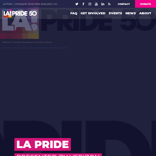 Home of the LA Pride Festival & Parade - West Hollywood, CA