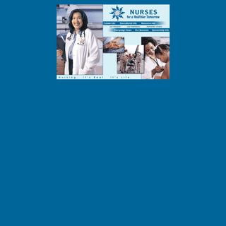 Nurses for a Healthier Tomorrow