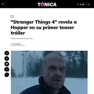 ArchiveBay.com - www.tonica.la/lux/Stranger-Things-4-y-su-primer-teaser-revela-que-Hopper-sigue-vivo-20200214-0001.html - -Stranger Things 4- revela a Hopper en su primer teaser tráiler - Tónica