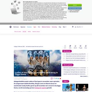 Ladies of Soul keren in november 2020 terug in Ziggo Dome - NU - Het laatste nieuws het eerst op NU.nl