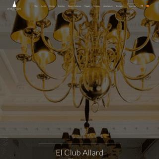 El Club Allard - Restaurante gastronómico en Madrid