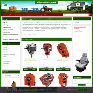 Alkatrészek a Farmdepo webáruház kínálatában
