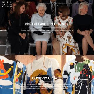 ArchiveBay.com - britishfashioncouncil.com - British Fashion Council - Home