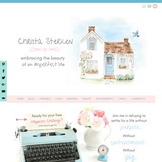 Home Page- Christa Sterken