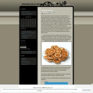 PROCESO DE ELABORACION DE CHIPS DE FRUTAS - Sólo otro weblog de WordPress.com