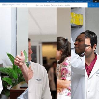 ArchiveBay.com - columbianeurosurgery.org - Columbia Neurosurgery Hospital - Neurological Surgery at Columbia University Medical Center NYC
