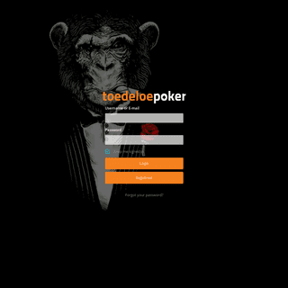 Toedeloe Poker Login – Toedeloe Poker